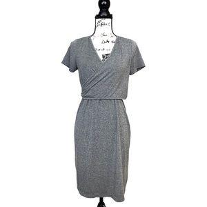 Topshop Maternity Wrap Dress